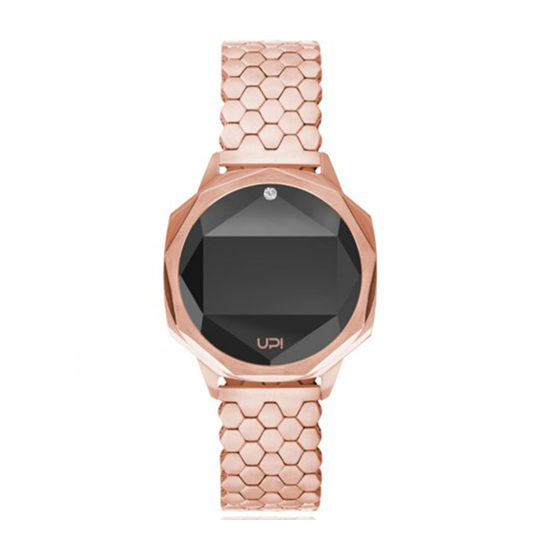 UP! Sat Icon Rose Gold Swarovski